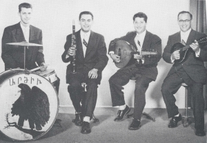 Simon Javizian and his original Ardziv ensemble