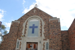 The original St. Johns Armenian Church on Oakman Blvd.