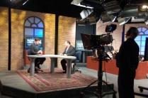DPTV Fred Nahhat interviewing Ara