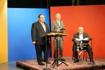 Ara and Jerry with DPTV host Dan Alpert