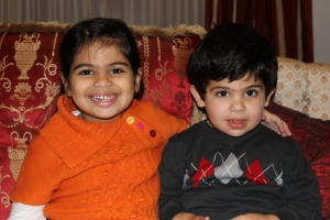 This is a picture of my children - Aline and Alexan. I look at them and know Turkey failed.