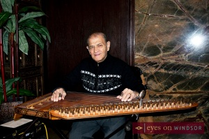 Johnny Sarweh, a prominent Arabic qanun player originally from Detroit. I took lessons from him many years ago.